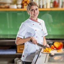 """Top-Chef-Finja"" weiß"