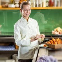 """""""Chef80-Sarah"""" weiß"""