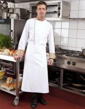 weiße Top-Kochschürze