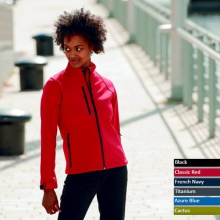 Ladies Softshell Jacke Russell 140F
