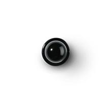 Knopf schwarz