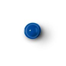 Knopf blau