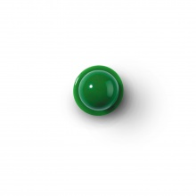 Knopf grün