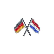gekreuzte Flaggen