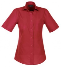 Bluse, rot, Gr.38  -SALE-