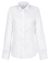 Bluse, weiß  -SALE-