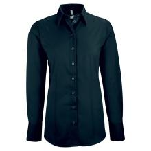 Basic-Bluse, schwarz