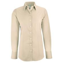 Basic-Bluse, beige