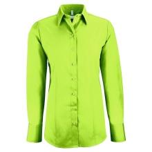 Basic-Bluse, apfelgrün