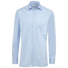 Hemd, vichy karo bleu, -SALE-