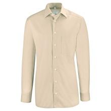 Basic-Hemd, beige