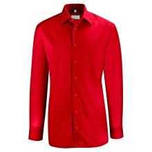 Basic-Hemd, rot