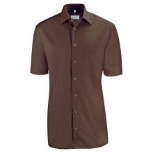 Basic-Hemd, braun