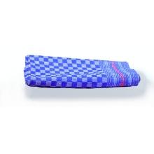 Grubentücher/Torchons  50x100cm, blau-kariert