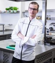 """""""Chef80-Riccardo"""" weiß"""