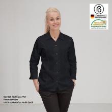Prisma-Pia  Kochbluse, farbig