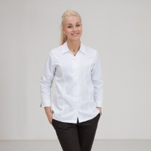 Kochbluse Top-Chef-PIA, weiß