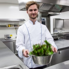 """Chef-Carlo"" weiß"