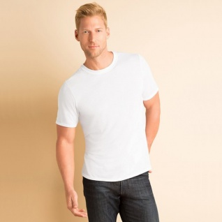 T-Shirt 'Fruit of the Loom', weiß
