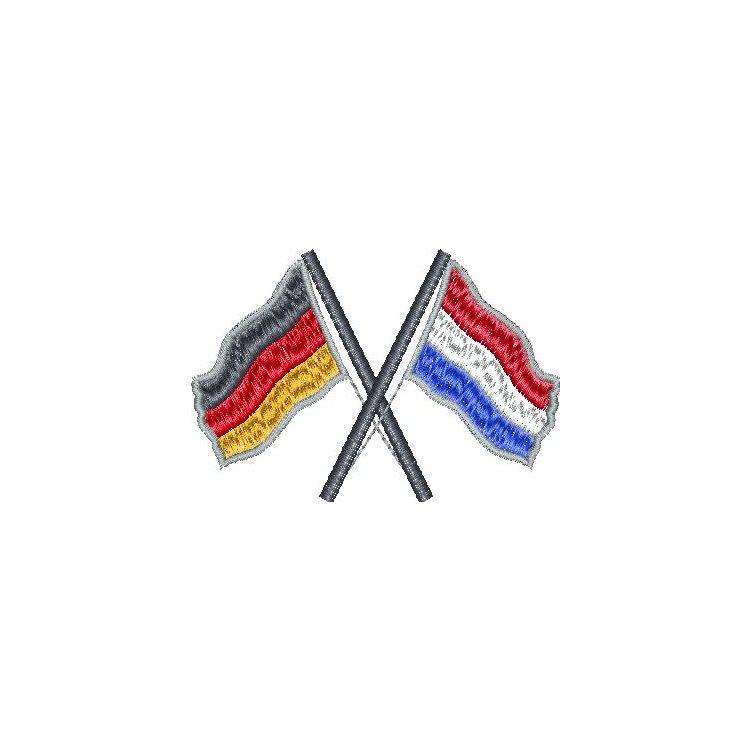 Gekreuzte Flaggen Im Ber-Bek Online-Shop Kaufen