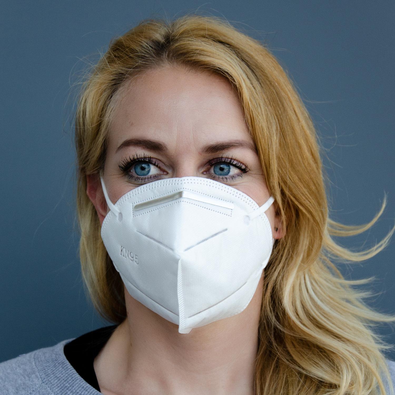 Atemschutz-Maske FFP2/KN95 (VPE 10 Stück) im Ber-Bek ...